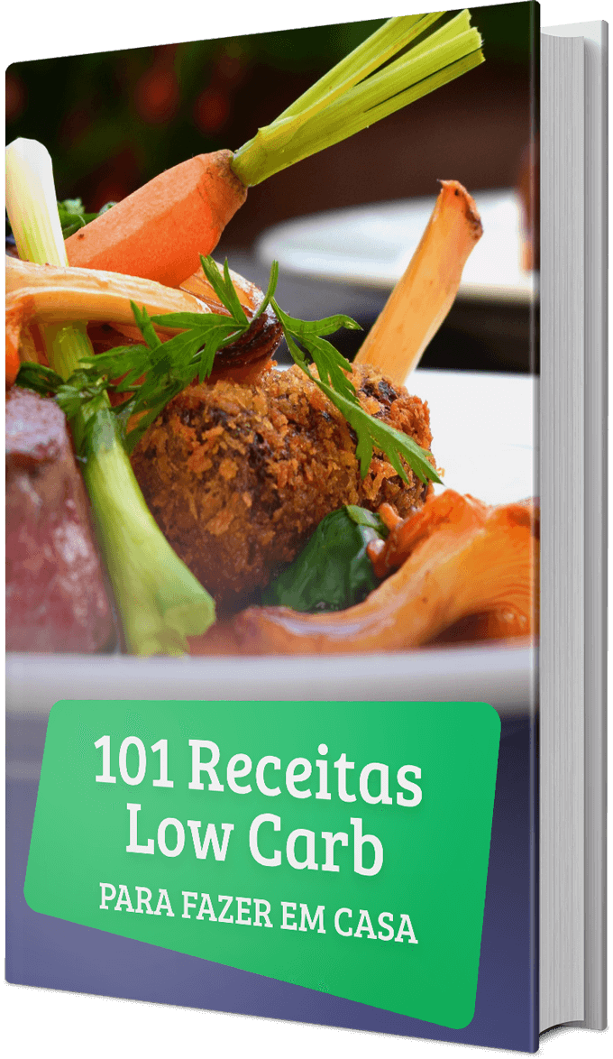 capa do e-book 101 Receitas Low Carb