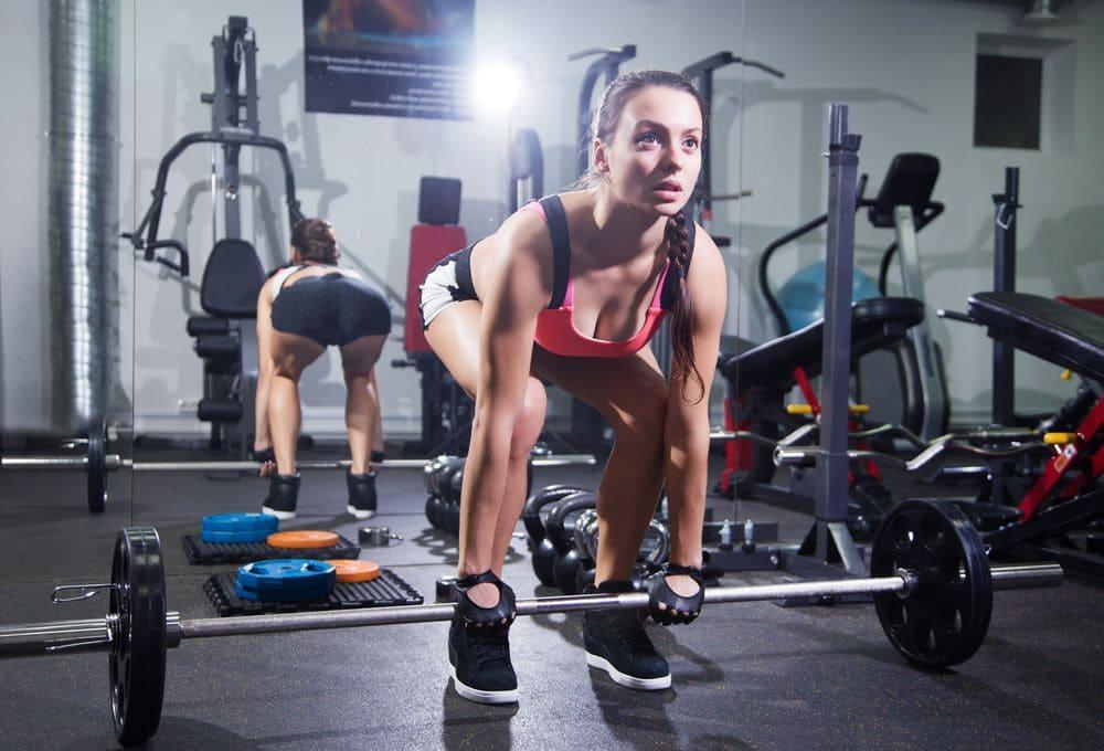 Treino de pernas feminino